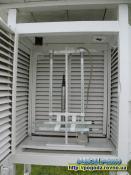Термометри та електронні датчики для визначення температури та вологості повітря