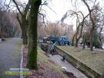 Скоро весна парк Шевченка в рівному готується